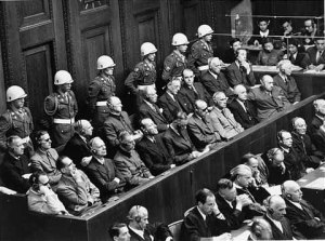 The first Nuremberg Trial