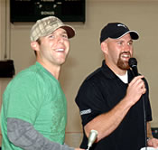 Dustin and Youk weren't at this fundraiser, but they support the Jimmy Fund too.