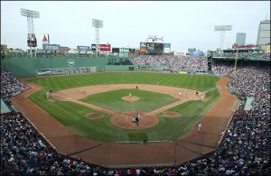 Looking forward to the first trip to Fenway in five years...