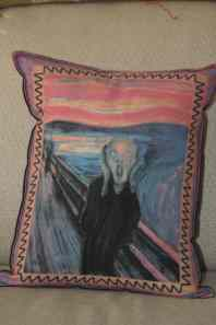 The Scream Pillow! What every home needs! And when you squeeze, it actually screams!