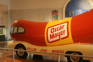 UConn lost, but everyone's a wiener at the Henry Ford Museum!