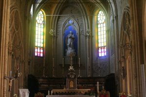 The church in Fubine - dedicated to Santa Maria Assunta